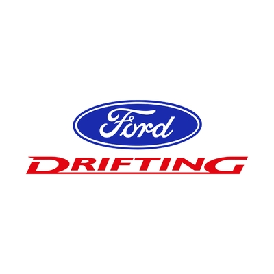 STICKERS FORD DRIFTING