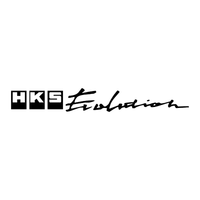 STICKERS HKS EVOLUTION