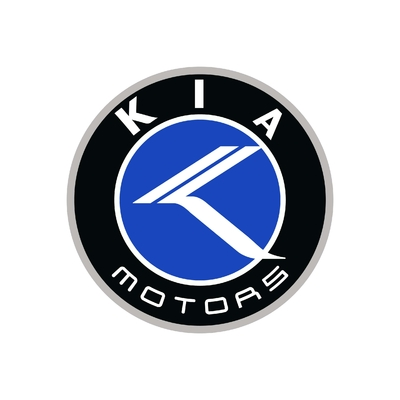 STICKERS KIA MOTORS COULEURS