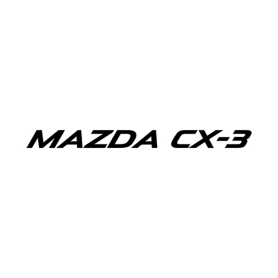 STICKERS MAZDA CX-3