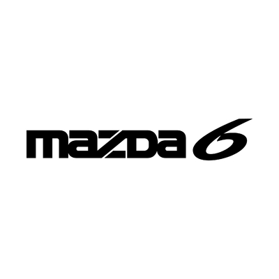 STICKERS MAZDA 6