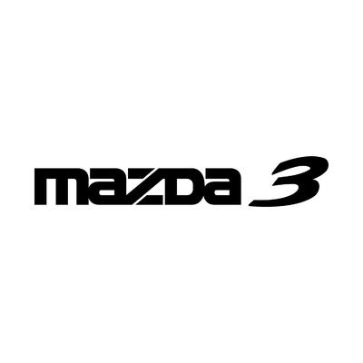 STICKERS MAZDA 3