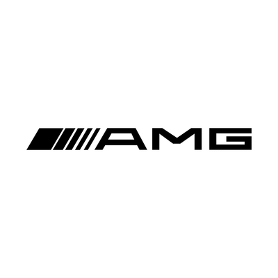 STICKERS MERCEDES AMG LOGO