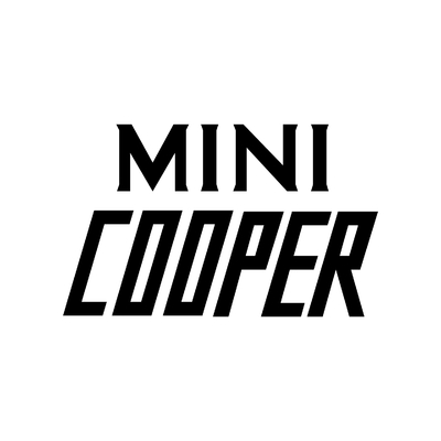 STICKERS MINI COOPER