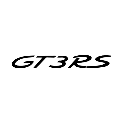 STICKERS PORSCHE GT3RS