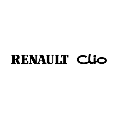STICKERS RENAULT CLIO