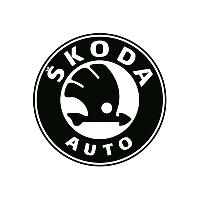 STICKERS SKODA LOGO