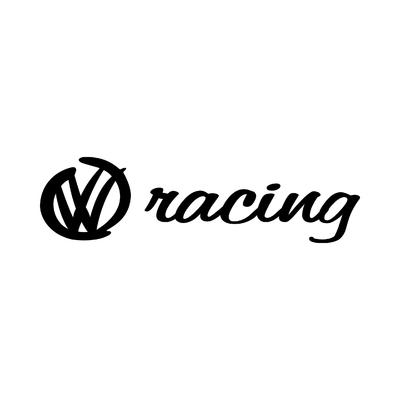 STICKERS VOLKSWAGEN RACING LOGO 2