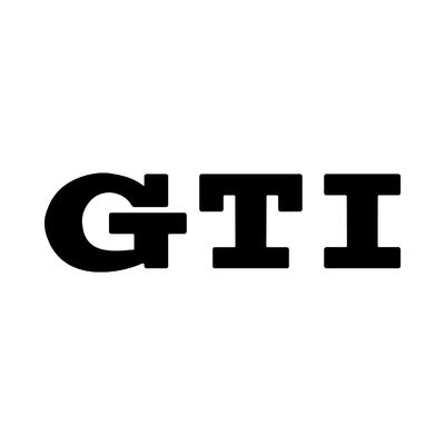 STICKERS VOLKSWAGEN GTI