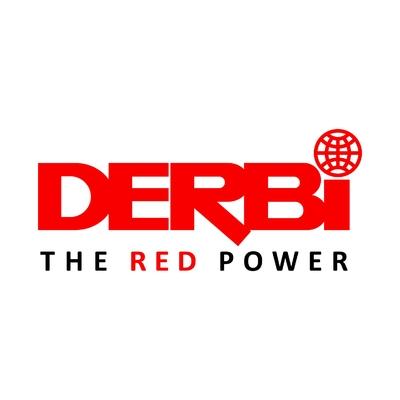 STICKERS DERBI RED POWER