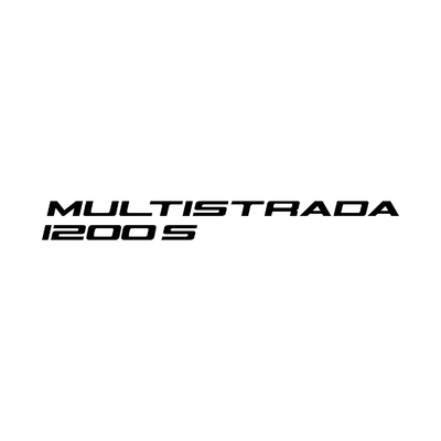 STICKERS DUCATI MULTISTRADA 1200S LOGO