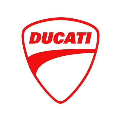 STICKERS DUCATI LOGO