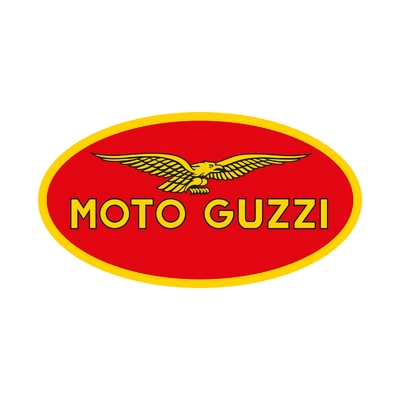 STICKERS MOTO GUZZI LOGO COULEURS