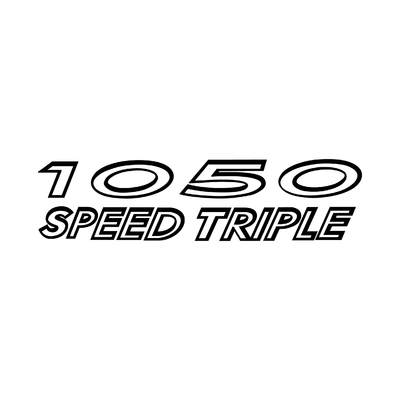 STICKERS TRIUMPH 1050 SPEED TRIPLE