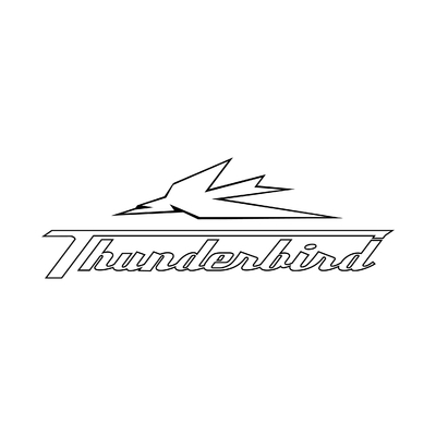 STICKERS TRIUMPH THUNDERBIRD