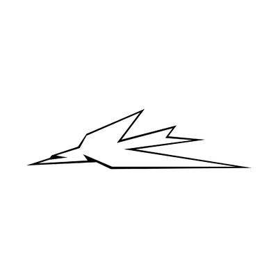 STICKERS TRIUMPH THUNDERBIRD LOGO