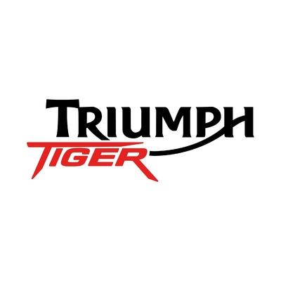 STICKERS TRIUMPH TIGER GAUCHE