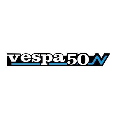 STICKERS VESPA 50