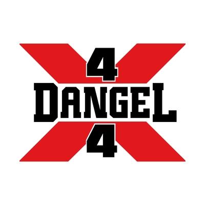 STICKERS DANGEL 4X4 COULEURS