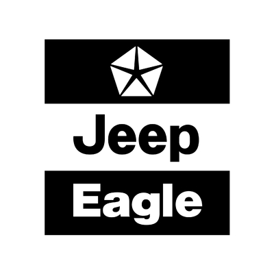 STICKERS JEEP EAGLE LOGO
