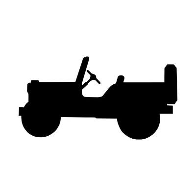 STICKERS JEEP PROFIL
