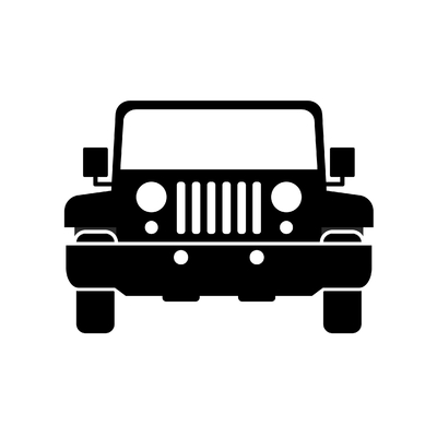 STICKERS JEEP 4X4 MODELE 2