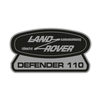 STICKERS DEFENDER 110 LAND ROVER