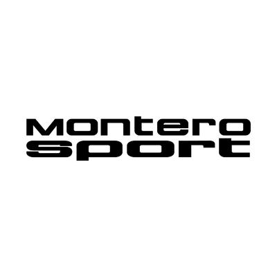 STICKERS MITSUBISHI MONTERO SPORT