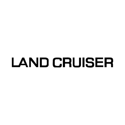 STICKERS LAND CRUISER TOYOTA LOGO
