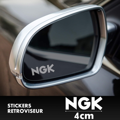 STICKERS RETROVISEUR NGK