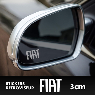 STICKERS RETROVISEUR FIAT