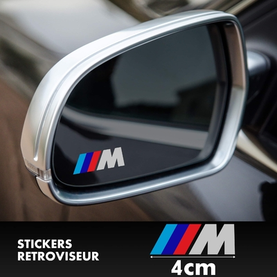 STICKERS RETROVISEUR BMW M SERIES