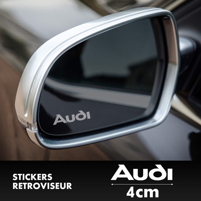 STICKERS RETROVISEUR AUDI
