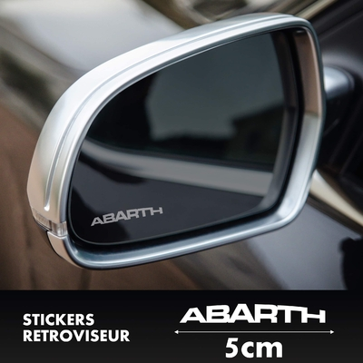 STICKERS RETROVISEUR ABARTH