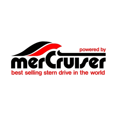 STICKERS MERCRUISER LOGO