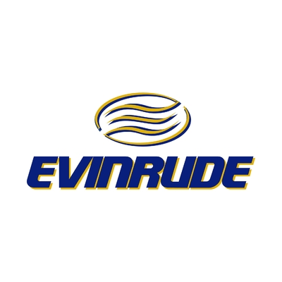 STICKERS EVINRUDE LOGO COULEURS