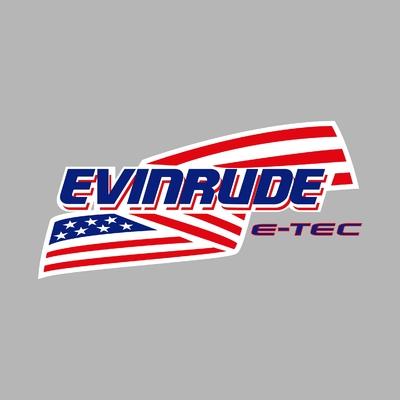 STICKERS EVINRUDE E-TEC