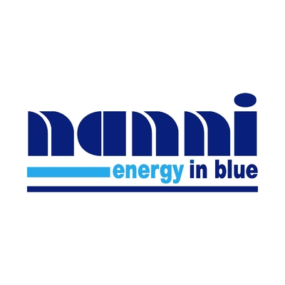 STICKERS NANNI ENERGY IN BLUE
