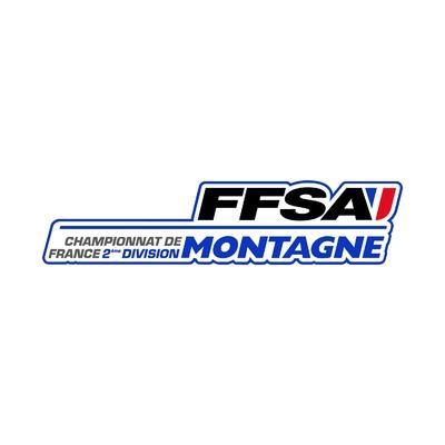 STICKERS FFSA 2EME DIVISION MONTAGNE