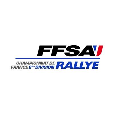 STICKERS FFSA 2EME DIVISION RALLYE