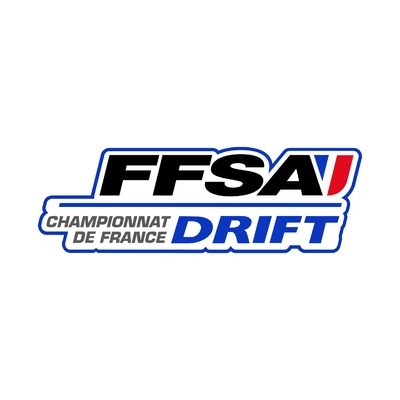 STICKERS FFSA CHAMPIONNAT FRANCE DRIFT LOGO