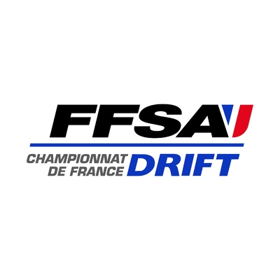 STICKERS FFSA CHAMPIONNAT FRANCE DRIFT