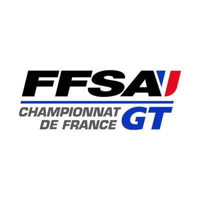 STICKERS FFSA CHAMPIONNAT FRANCE GT