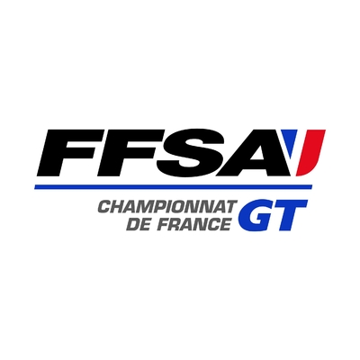 STICKERS FFSA CHAMPIONNAT FRANCE GT LOGO