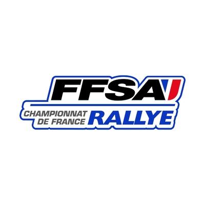 STICKERS FFSA CHAMPIONNAT FRANCE RALLYE LOGO