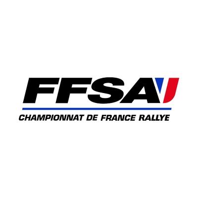 STICKERS FFSA CHAMPIONNAT RALLYE