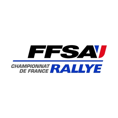 STICKERS FFSA CHAMPIONNAT FRANCE RALLYE