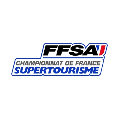 STICKERS FFSA CHAMPIONNAT FRANCE SUPERTOURISME LOGO