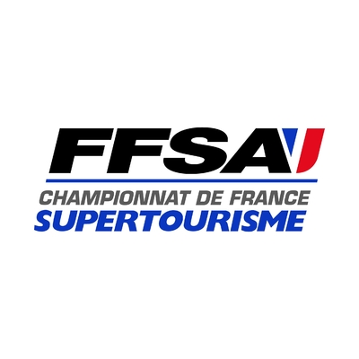STICKERS FFSA CHAMPIONNAT FRANCE SUPERTOURISME