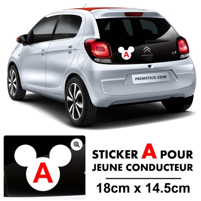 STICKERS A MICKEY